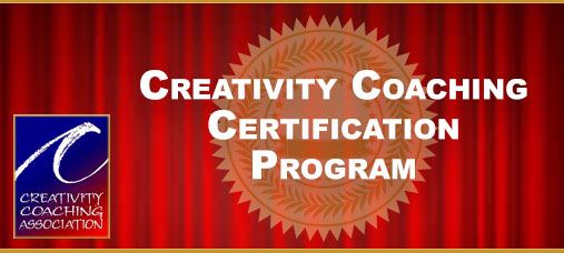 Learn more about the Creativity Coaching Certification Program