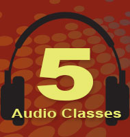 5 Audio Classes