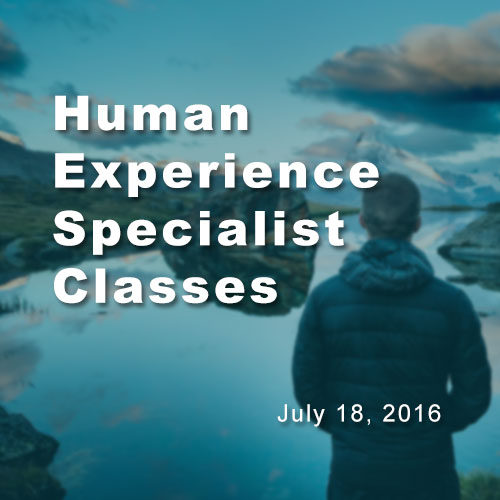 Human experience classes