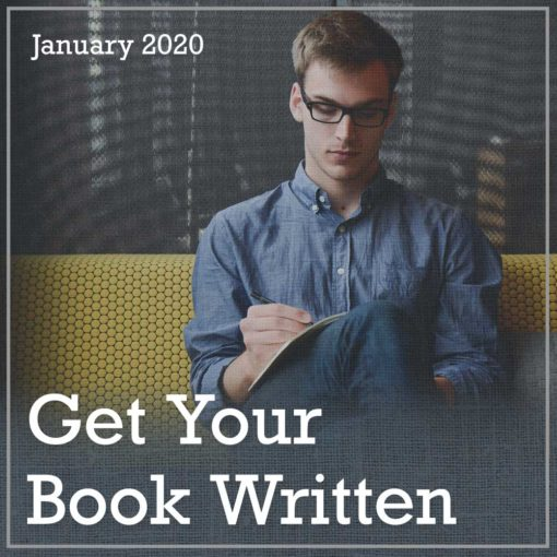 Get Your Book Written - Jan 2020