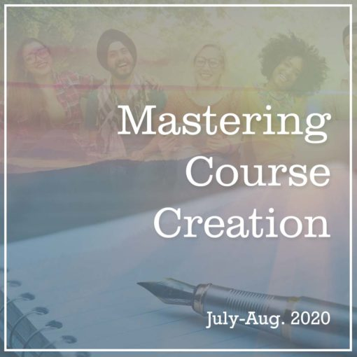 Mastering Course Creation